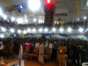 """Annual Men Missionary Union of the Nigerian Baptist Convention Congress 2017 Themed """"Let It Rain"""""""