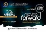 Men's Session of the 2019 Nigerian Baptist Convention-in-Session flyer